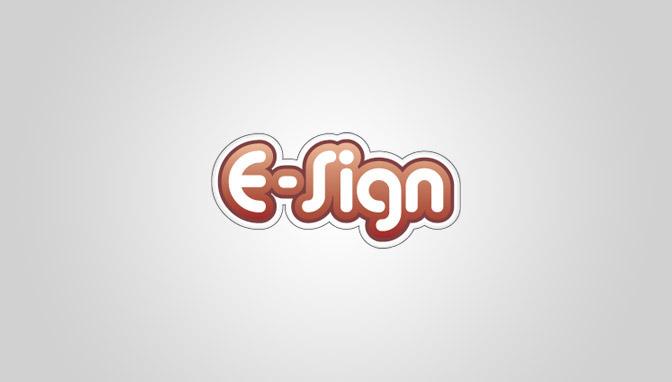 Logo e-Sign